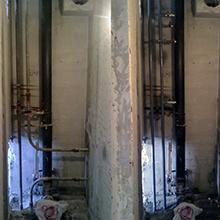 Замена труб канализации и водоснабжения в Томске