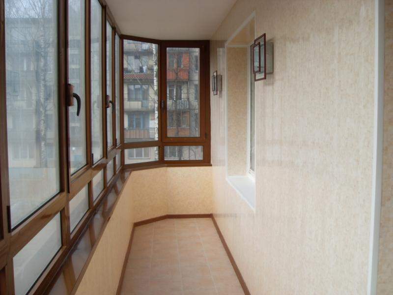 Ремонт и отделка балкона под ключ Томск, Северск